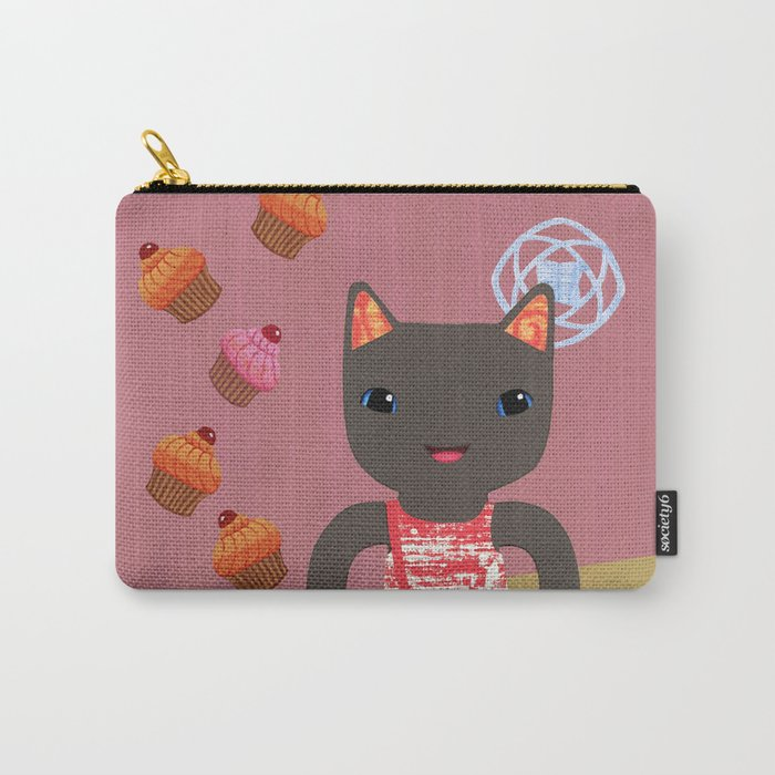 cupcake shower Carry-All Pouch