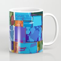 africa Mugs featuring Africa by Fernando Vieira
