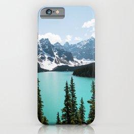 Moraine Lake Landscape Photography iPhone Case