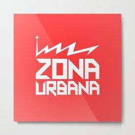 Zona Urbana - Classic Logo Metal Print