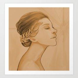 Goddess of Victory Art Print