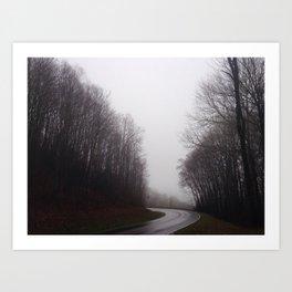 Great Smokey Mountains 2 Art Print