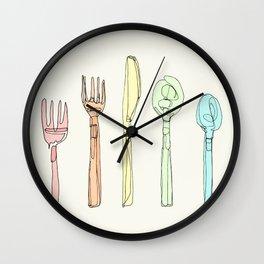 Utensils Wall Clock