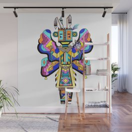 Kachina Butterfly 4 Wall Mural