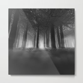 Soul of the Forest B&W Metal Print