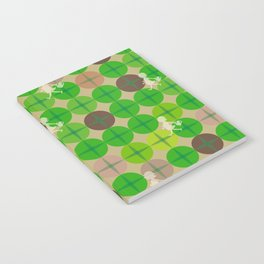 Glass Of Grass Notebook