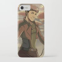 cassandra jean iPhone & iPod Cases featuring Jean by Marco