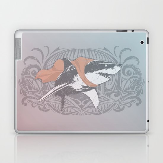 Fearless Creature: Whitey Laptop & iPad Skin