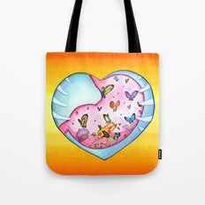 All a Flutter Tote Bag