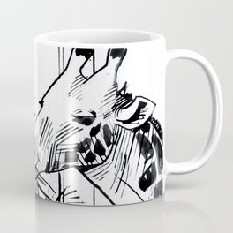 Giraffe Munch Coffee Mug