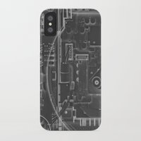 playstation iPhone & iPod Cases featuring PlayStation One  by Georg Bodenstein