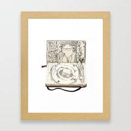 The Last Supper (Frog) Framed Art Print