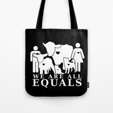 Earthlings Inverse colors Tote Bag