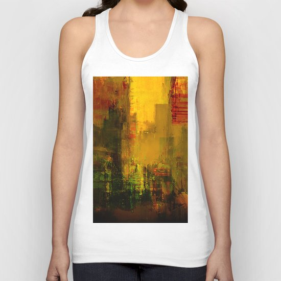 Yellow City Unisex Tank Top