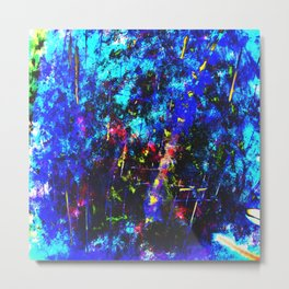 Azule Forest Metal Print