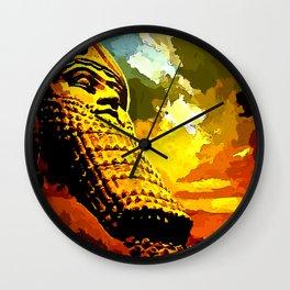 Lamassu Right Wall Clock