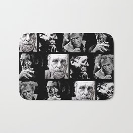 BUKOWSKI - 4 faces Bath Mat