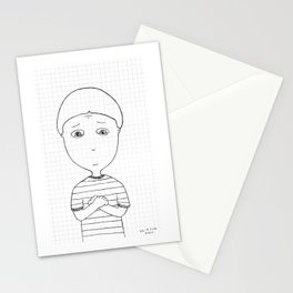 My imaginary friend_013 Stationery Cards