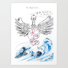 The Pacific Curse Art Print