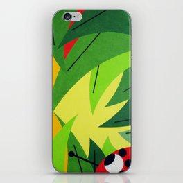 Flowers - Paint iPhone Skin