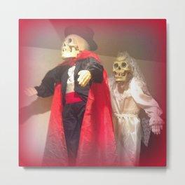 Spooky Two Wedding Metal Print