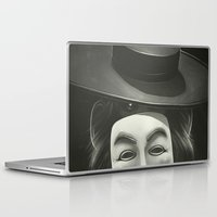 anonymous Laptop & iPad Skins featuring Anonymous II by Dr. Lukas Brezak