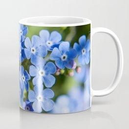 Forget Me Not Photography Print Coffee Mug