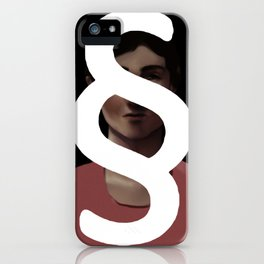 Behind the Paragraph iPhone Case