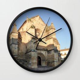 Golden San Miguel (Cordoba) Wall Clock