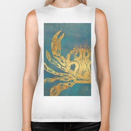 Deep Sea Life Crab Biker Tank