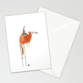 Numero 10 -Cosi che cavalcano Cose - Things that ride Things- NUOVA SERIE - NEW SERIES Stationery Cards