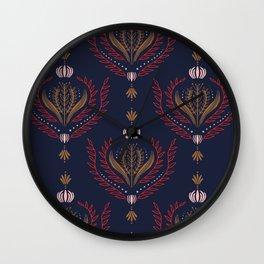 Jeweled Wall Clock