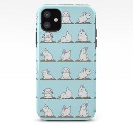 Bunnies Yoga iPhone Case