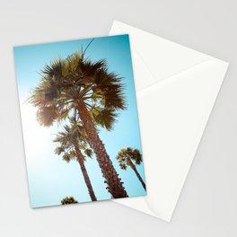 Palm Tree Beach Life Stationery Cards