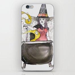 Cauldron Witch iPhone Skin