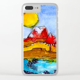 Landscape November 23 Clear iPhone Case