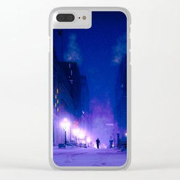 is this how it ends Clear iPhone Case