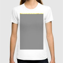 Give me Gold: festive, golden, fashionable, 3-d, glittery, Christmas, cheerful, lattice design T-shirt