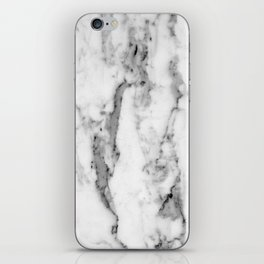 White Marble iPhone Skin
