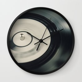 Needle on the Record Wall Clock