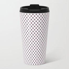 Elderberry Polka Dots Travel Mug
