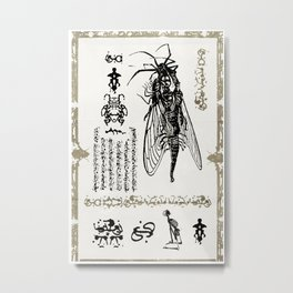 FLY GOD Metal Print