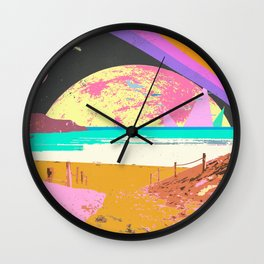 SEARCHING FOR SOMEWHERE Wall Clock
