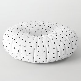 Polka Dots in Love Floor Pillow