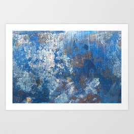 Map of the Universe as Seen on the Bottom of a Boat Art Print