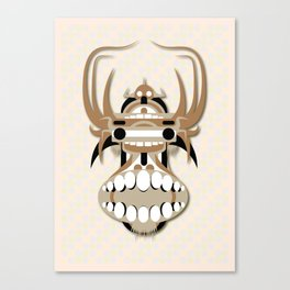 Hung Head Canvas Print