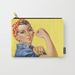 We Can Do It - Rosie the Riveter Poster Carry-All Pouch