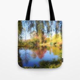 Dreamy Water Garden Tote Bag