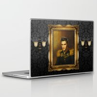 replaceface Laptop & iPad Skins featuring Elvis Presley - replaceface by replaceface
