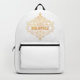Gold Bibliophile Backpack